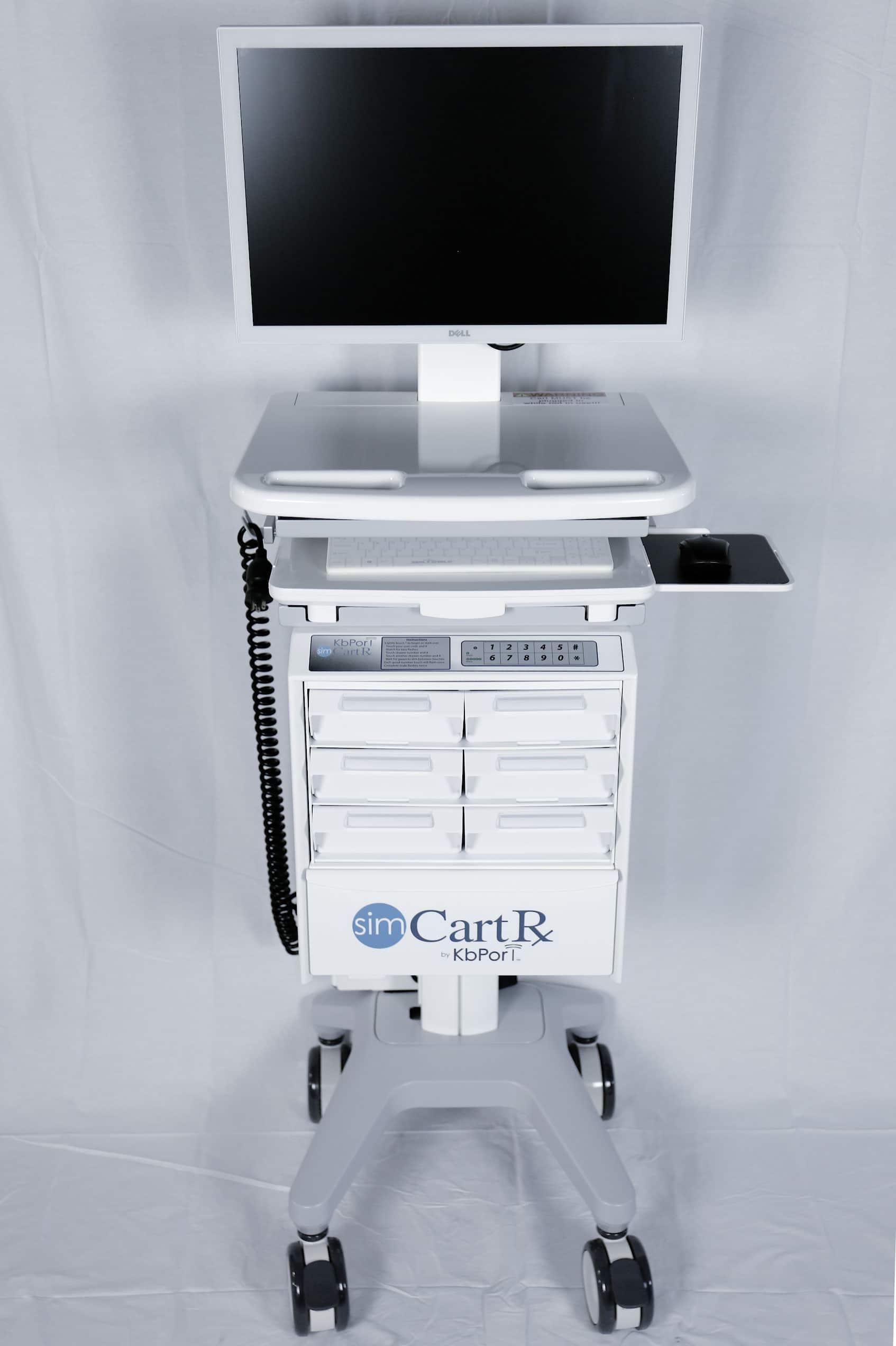 Hospital Computer Cart