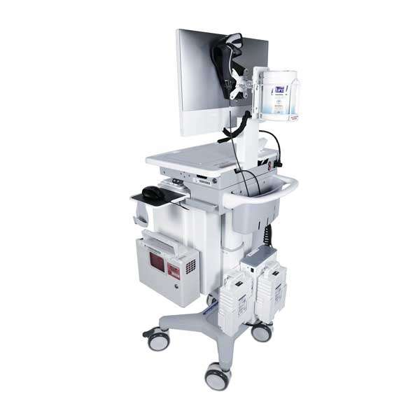 Hospital Computer Cart on Wheels