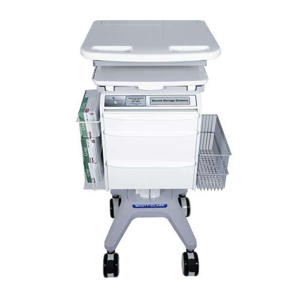 medical cart for a computer