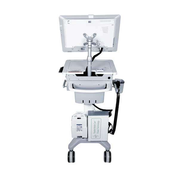 Medical Laptop Cart on Wheels