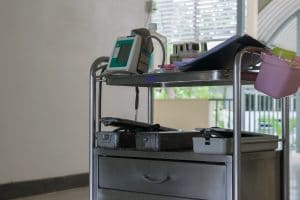 Medical Equipment On Cart