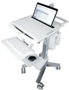 healthcare mobile computer carts