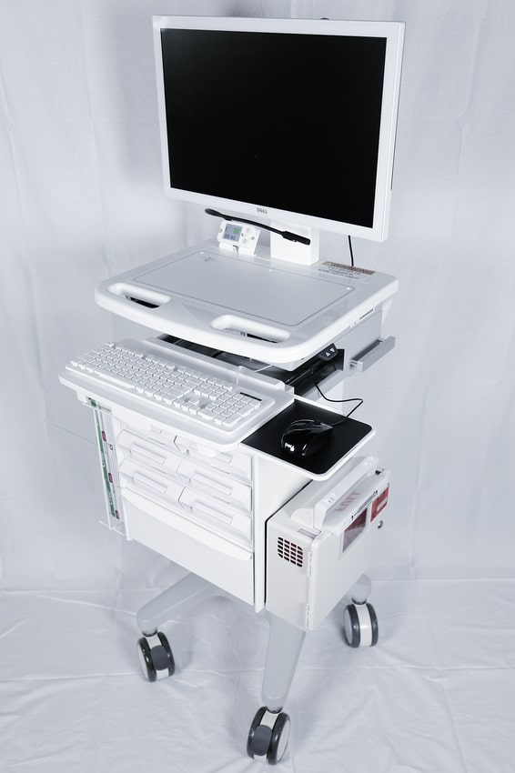 Portable Utility Cart with Wheels - Scott-Clark Medical