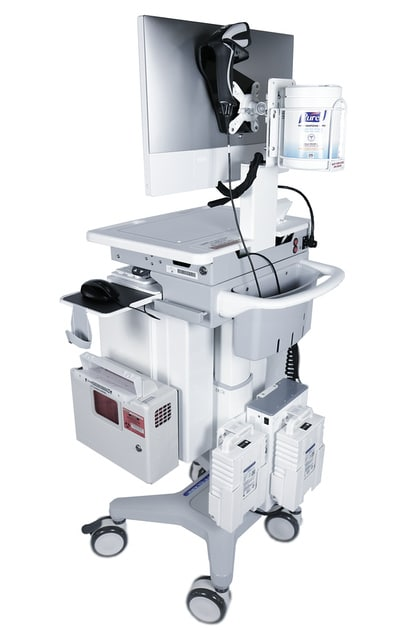 medical cart - printers & scanners