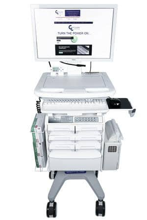Medical Supply Carts on Wheels with drawers