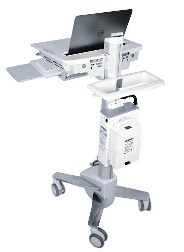 Mobile Medical Computer Cart